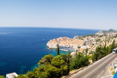 Bild över Dubrovnik