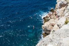Bad från klippor