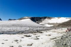 Glaciären Styggebreen