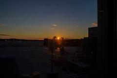 Soluppgång vid Gardermoen